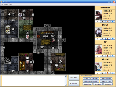 Heroquest Screenshot