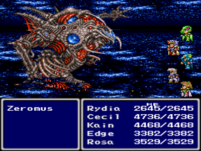 Was never caught up in the story more than FF2